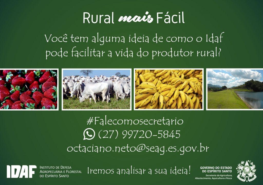 Rural mais fácil