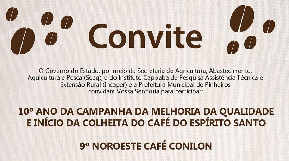 convite café qualidade