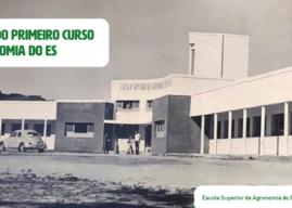 Primeiro curso de Agronomia do Espírito Santo completa 50 anos de atividade